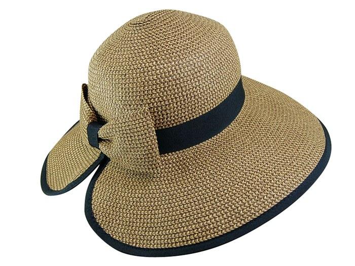 Boardwalk Style Bow Hat with Butterfly Split