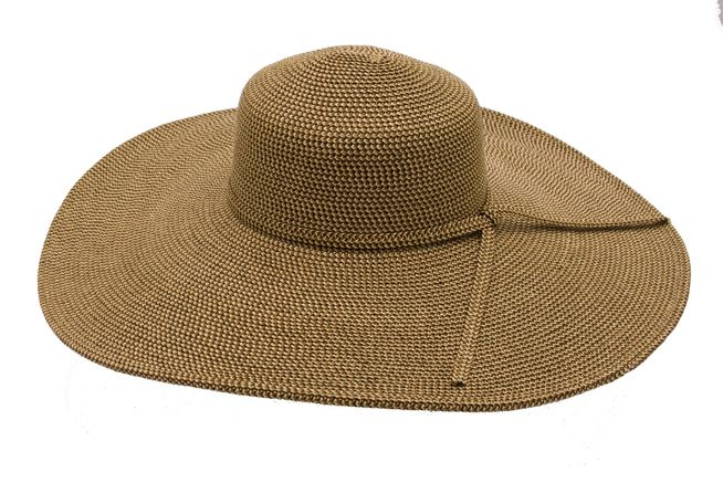 Extra Wide Brimmed Straw Floppy Hat-Boardwalk Style