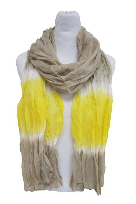 Two Tone Lightweight Summer Beach Scarf-Boardwalk Style
