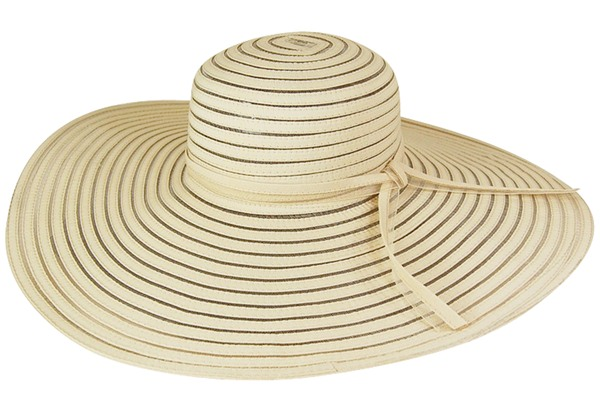 wide brim summer hat - boardwalk style