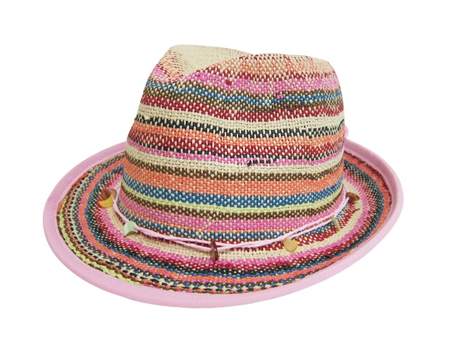 womens summer fedora hat - boardwalk style