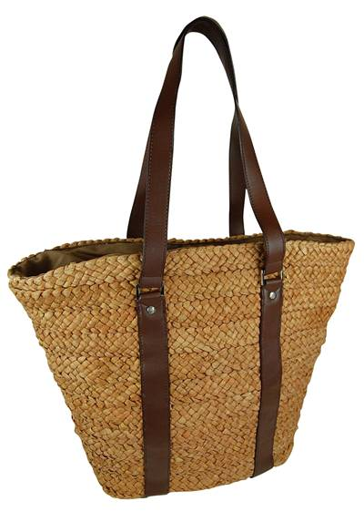 Large Cornhusk Best Summer Beach Bag-Boardwalk Style