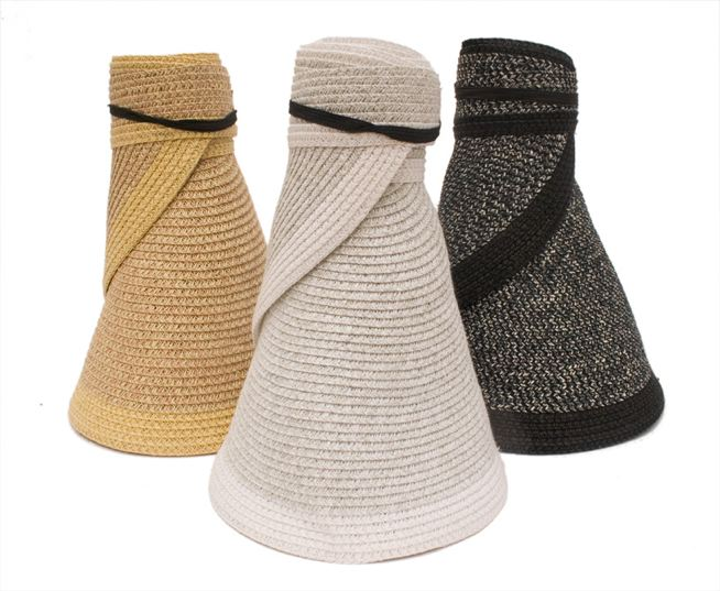 Wide Brim Su Visors-Boardwalk Style