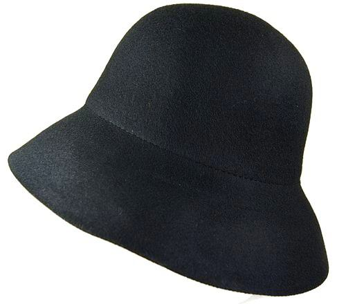 Long Brim Felt Bucket Hat- Boardwalk Style