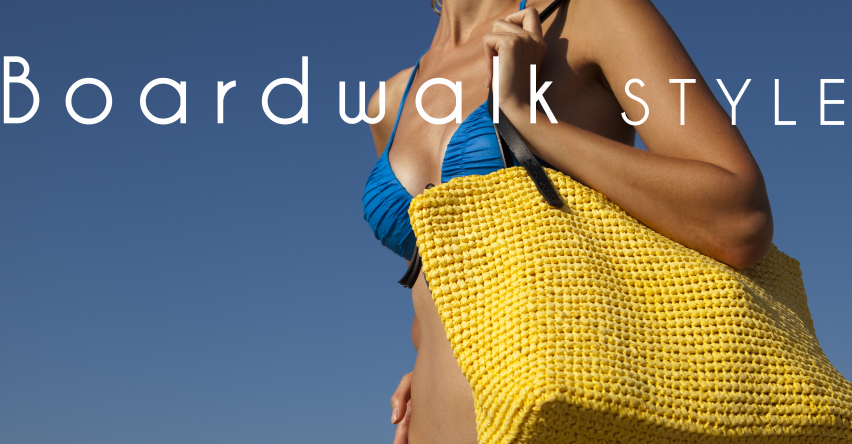 beach bags and totes - boardwalk style los angeles
