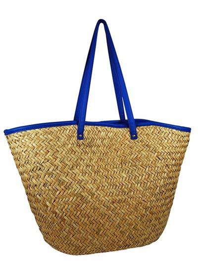 Black Straw Bags For Summer Straw Beach Bag Summer