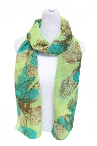 Buy Sumer Scarves Los Angeles Lightweight Neon Print Summer Scarf- Boardwalk Style