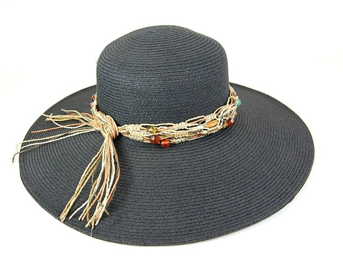 Hats to wear on the beach black straw hats summer 2014 boardwalk