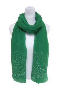 Lightweight Scarf Green Summer Scarves- Boardwalk Style