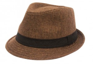 Summer Linen Fedora- Boardwalk Style