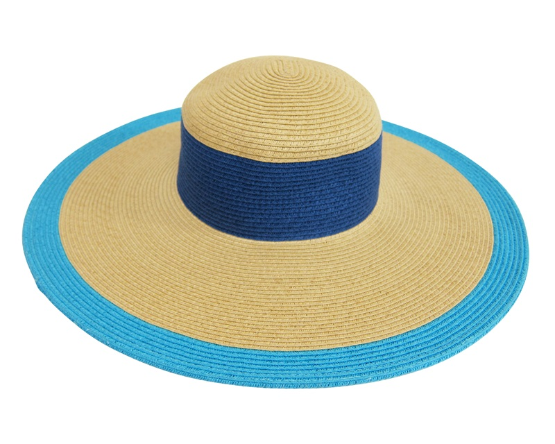Colorbock Wide Brim Summer Hat-Boardwalk Style