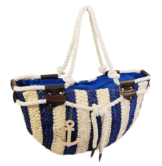 Nautical Cornhusk Tote Bag-Dynamic Asia
