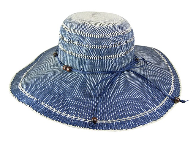 Ombre Wide Brim Sun Hat-Boardwalk Style