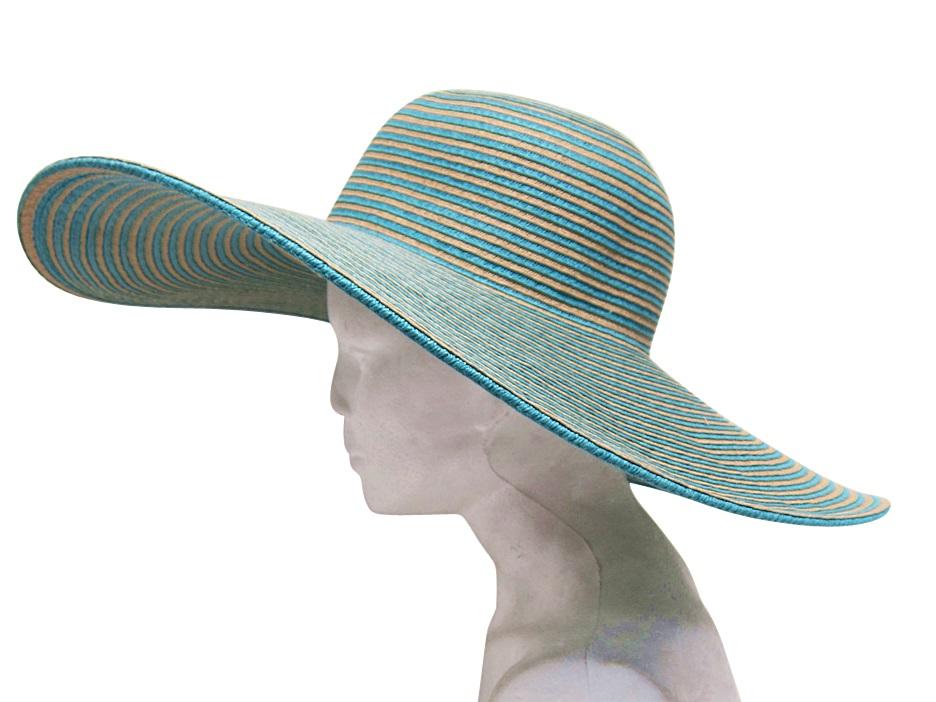 Extra Wide Brim California Beach Sun Hat-Boardwalk Style