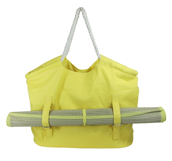 Large Beach Bag With Built In Mat