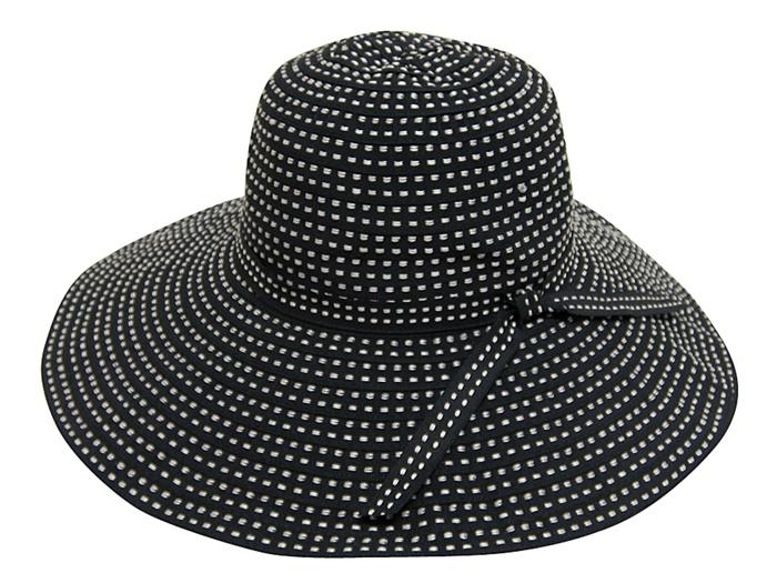 Shapeable Ribbon Hat Los Angeles California Hat Company-Boardwalk Style