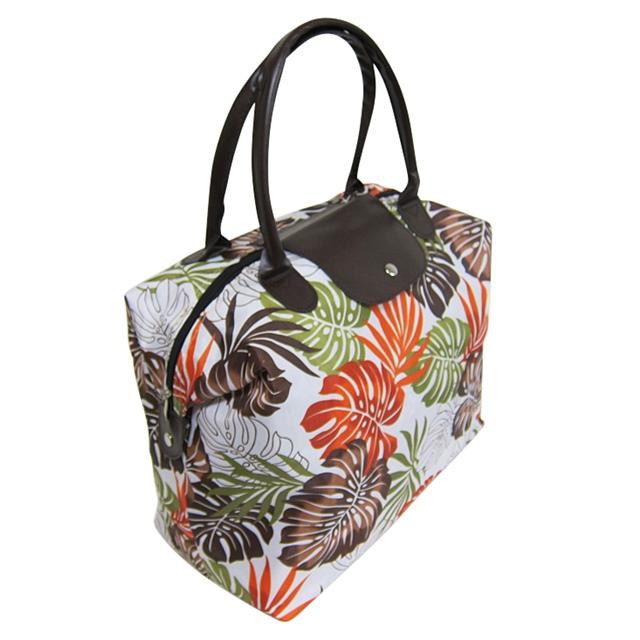 Tropical Print Beach Handbag