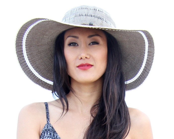 Ombre Sun Hat Boardwalk Style