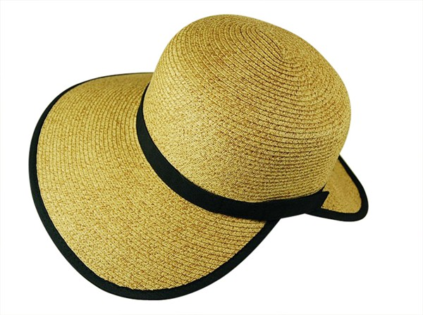 Straw Facesaver Sun Hat-Boardwalk Style