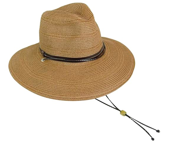 Sun Protective Hats Safari Hat with Cord-Boardwalk Style