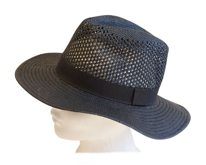 ladies straw panama hats fedora hat for summer - boardwalk style los angeles