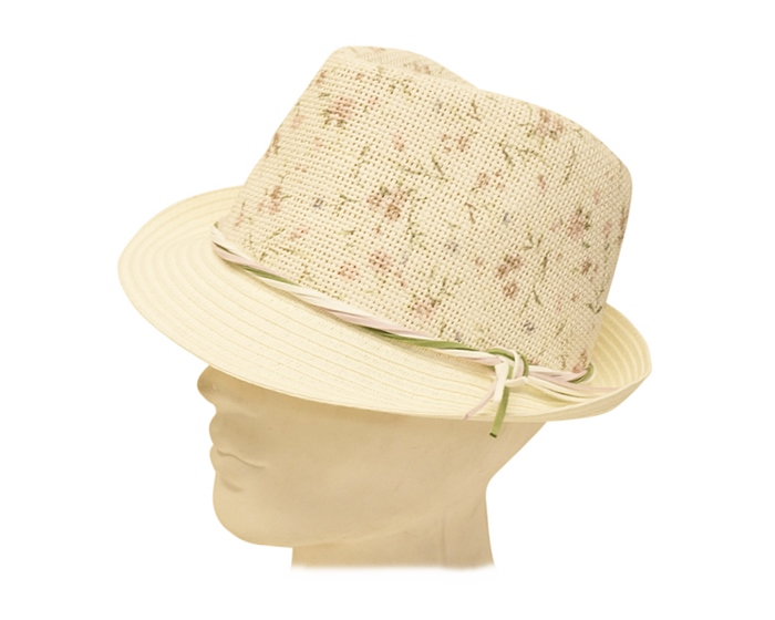 white fedora for women - straw hats by boardwalk style