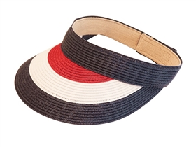straw ladies visors