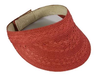 red sun visor
