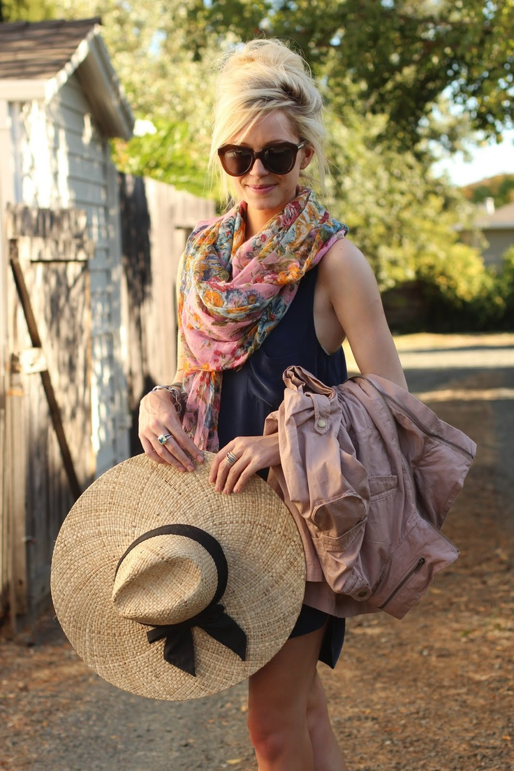shawl wrapping styles for summer boardwalk style