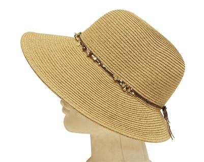 Lampshade Hats Straw String Band