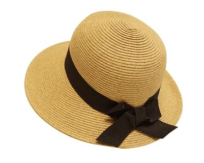 Straw Lampshade Hat Women