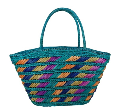 straw beach totes and bags