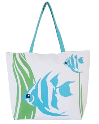 cute beach bags canvas
