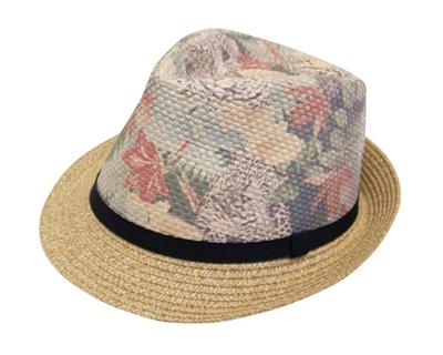 straw fedoras girls hats hawaii