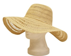 large floppy beach hats