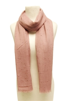 light pink summer confetti scarf