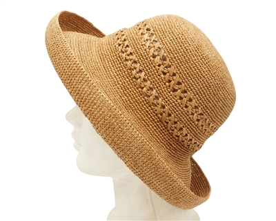straw womens summer bucket hat