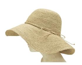 summer hat organic raffia straw