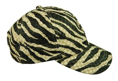 tiger striped baseball hat