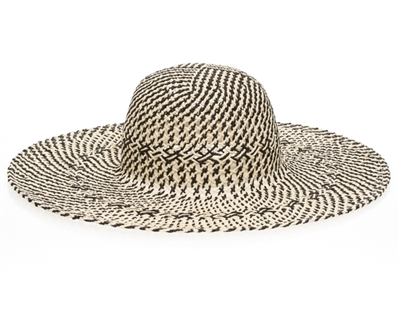 two tone summer hat