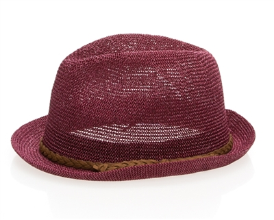 fedora ladies hat for summer