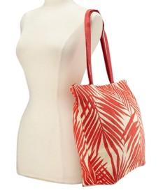 red beach bags