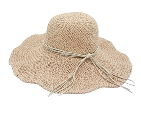 shapeable handwoven floppy hat