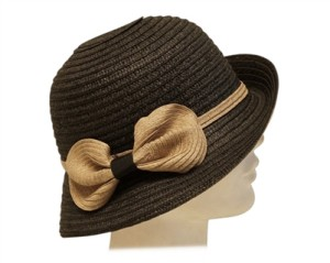 classic straw cloches bucket hats for women