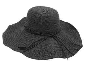 large black straw hat ladies