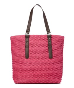 oversized straw tote handbag