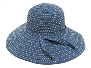 packable ribbon hats travel