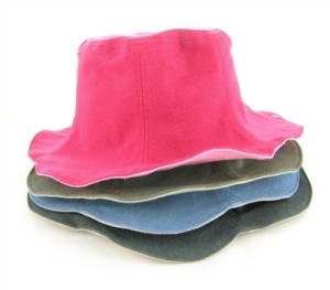 reversible canvas bucket hat for women wholesale