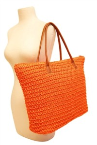 straw beach bag brand los angeles