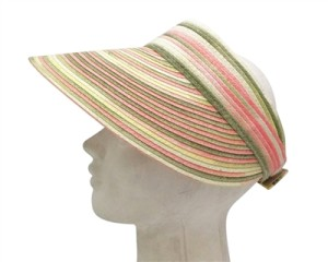 straw beach sun visors la
